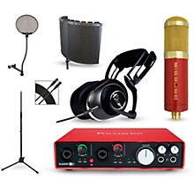 Focusrite Scarlett 6i6 Recording Package with MXL Genesis and BLUE Lola