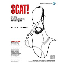 Music Sales Scat! Vocal Improvisation Techniques Music Sales America Series Softcover with CD