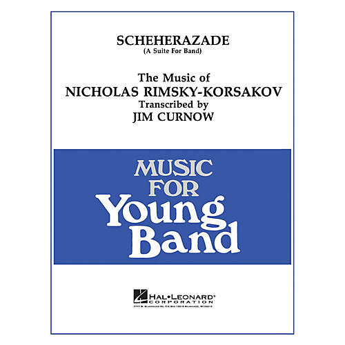 Hal Leonard Scheherazade - Young Concert Band Level 3 by James Curnow-thumbnail