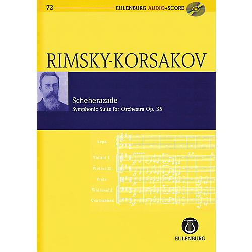 Eulenburg Scheherazade Symphonic Suite For Orch, Op. 35 Eulenberg Audio plus Score with CD by Rimsky-Korsakov-thumbnail