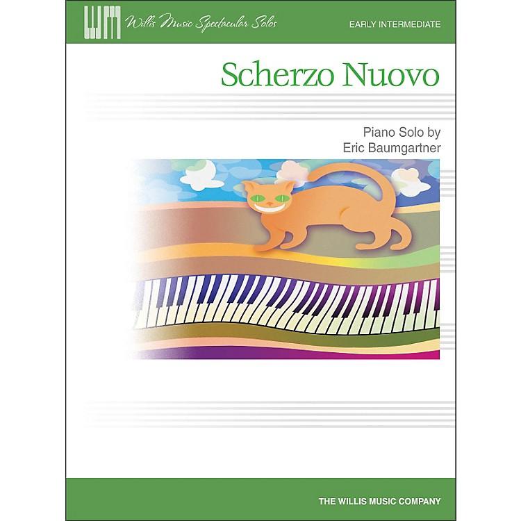 Willis MusicScherzo Nuovo - Early Intermediate Piano Solo Sheet