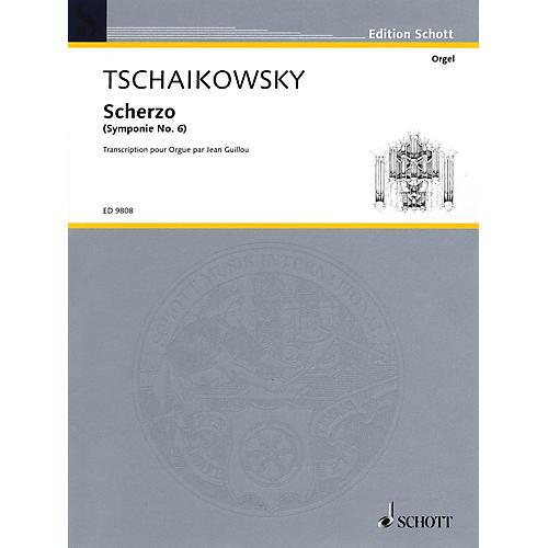Schott Scherzo (Organ) Schott Series