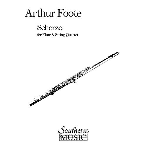 Southern Scherzo for Flute & String Quartet Southern Music Series by Arthur Foote-thumbnail