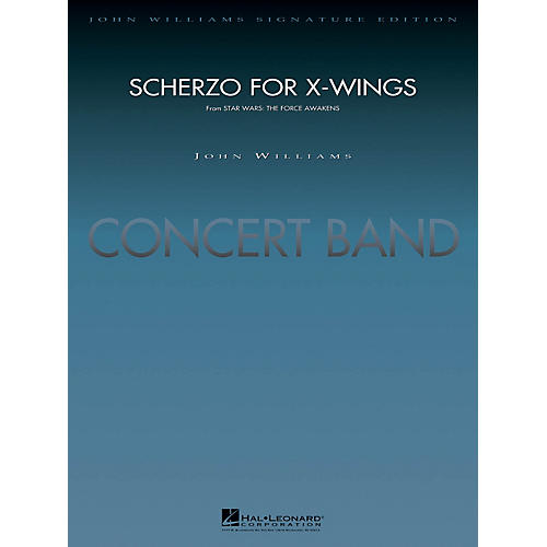 Hal Leonard Scherzo for X-Wings (from Star Wars: The Force Awakens) Concert Band Level 5 Arranged by Paul Lavender-thumbnail