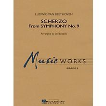 Hal Leonard Scherzo (from Symphony No. 9) Concert Band Level 3 Arranged by Jay Bocook