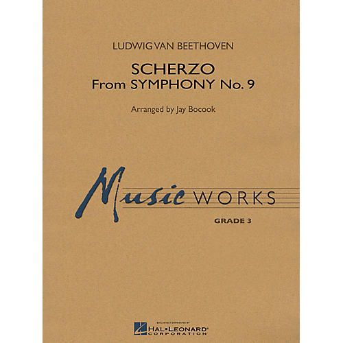 Hal Leonard Scherzo (from Symphony No. 9) Concert Band Level 3 Arranged by Jay Bocook-thumbnail