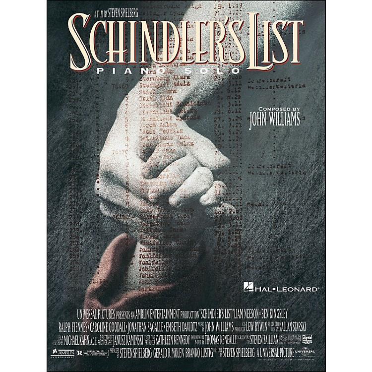 Hal LeonardSchindler's List Piano Solos