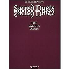 G. Schirmer Schirmer's Favorite Sacred Duets for Various Voices