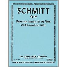 Willis Music Schmitt Preparatory Exercises for The Piano Opus 16