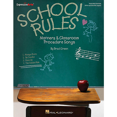Hal Leonard School Rules (Manners and Classroom Procedure Songs) Performance/Accompaniment CD Composed by Brad Green-thumbnail