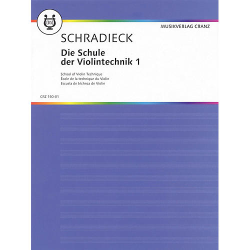 Schott School of Violin Technique - Volume 1 Schott Series Composed by Heinrich Schradieck