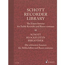 Schott Schott Recorder Library Woodwind Solo Series Softcover