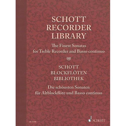 Schott Schott Recorder Library Woodwind Solo Series Softcover-thumbnail