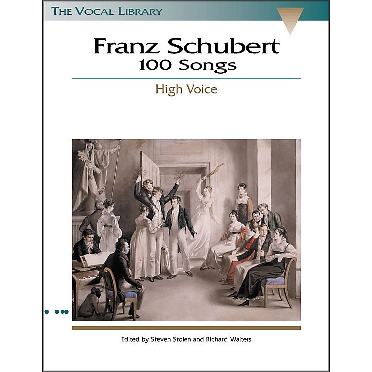 Hal Leonard Schubert - 100 Songs for High Voice (the Vocal Library Series)