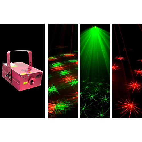 Chauvet Scorpion Storm FX Red and Green Laser Effect Light
