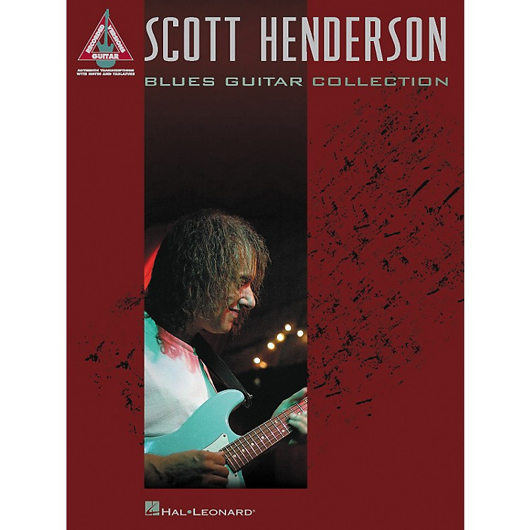 Hal Leonard Scott Henderson Blues Guitar Collection Guitar Tab Songbook