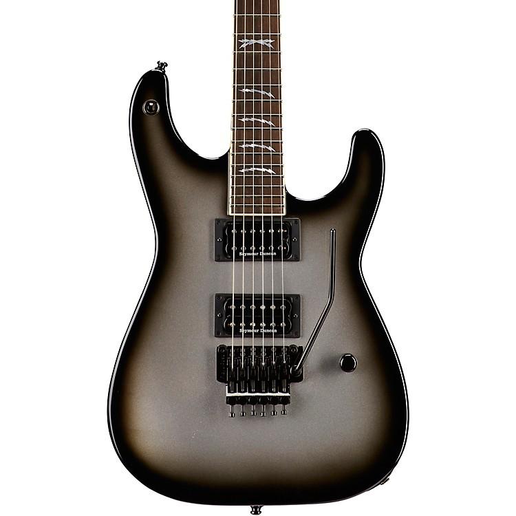 JacksonScott Ian Signature T1000 Soloist 2H w/ Floyd Rose Electric GuitarSilverburstEbony Fingerboard