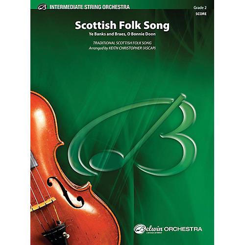 Alfred Scottish Folk Song String Orchestra Grade 2