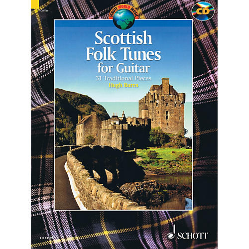 Schott Scottish Folk Tunes for Guitar (With a CD of Performances) Schott Series Softcover with CD-thumbnail