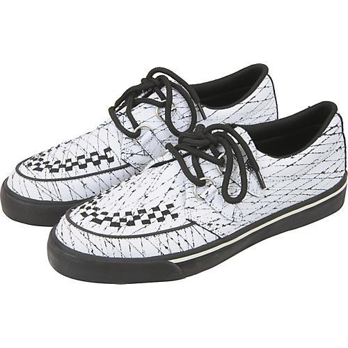 T.U.K. Scratched Leather Creeper Sneaker
