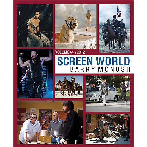 Theatre World Media Screen World Volume 64 (The Films of 2012) Applause Books Series Hardcover-thumbnail