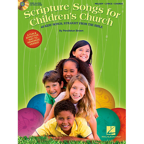 Hal Leonard Scripture Songs For Children's Church - 40 Kids' Songs Straight from the Bible-thumbnail