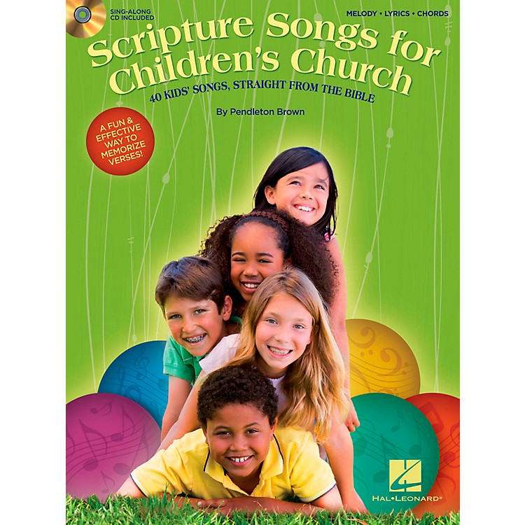 Hal LeonardScripture Songs For Children's Church - 40 Kids' Songs Straight from the Bible