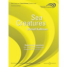Boosey and Hawkes Sea Creatures (for Wind Octet - Score Only) Concert Band Level 5 Composed by Daniel Kallman