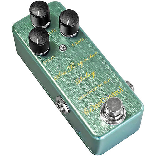 One Control Sea Turquoise Delay Effects Pedal-thumbnail