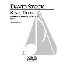 Lauren Keiser Music Publishing Sea of Reeds (for Oboe, Clarinet and Bassoon) LKM Music Series by David Stock