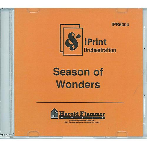Shawnee Press Season of Wonders (iPrint Orchestration (CD-ROM)) Score & Parts composed by Joseph M. Martin-thumbnail