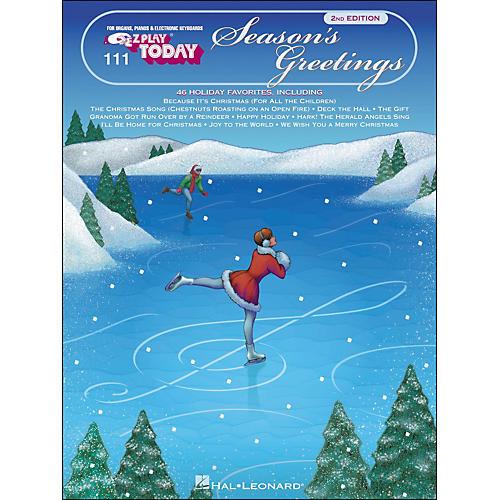 Hal Leonard Season's Greetings E-Z Play 111-thumbnail