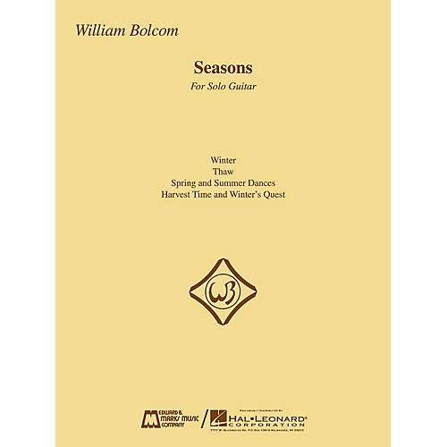 Edward B. Marks Music Company Seasons (Guitar Solo) E.B. Marks Series Composed by William Bolcom-thumbnail