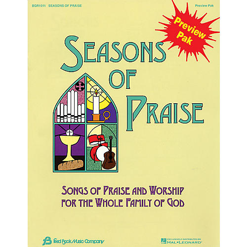 Hal Leonard Seasons Of Praise Preview Pak Preview Pak-thumbnail