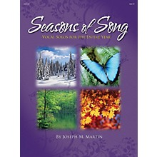 Shawnee Press Seasons of Song (Vocal Solos for the Entire Year) Shawnee Press Series CD  by Joseph M. Martin