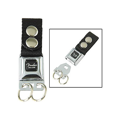 Fender Seat Belt Key Chain