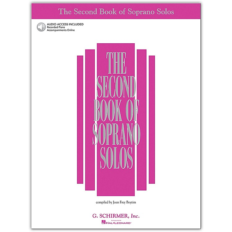 G. Schirmer Second Book Of Soprano Solos Book/2CD Pkg