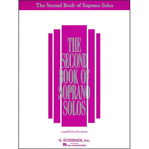 G. Schirmer Second Book Of Soprano Solos
