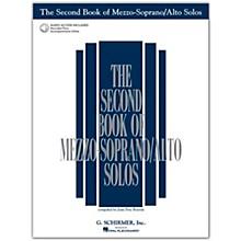 G. Schirmer Second Book/Online Audio Of Mezzo-Soprano / Alto Solos Book/Online Audio