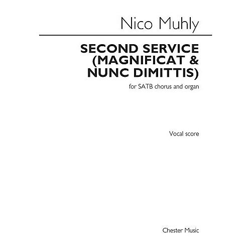 St. Rose Music Publishing Co. Second Service (Magnificat and Nunc Dimittis) (SATB Chorus and Organ) SATB Composed by Nico Muhly-thumbnail