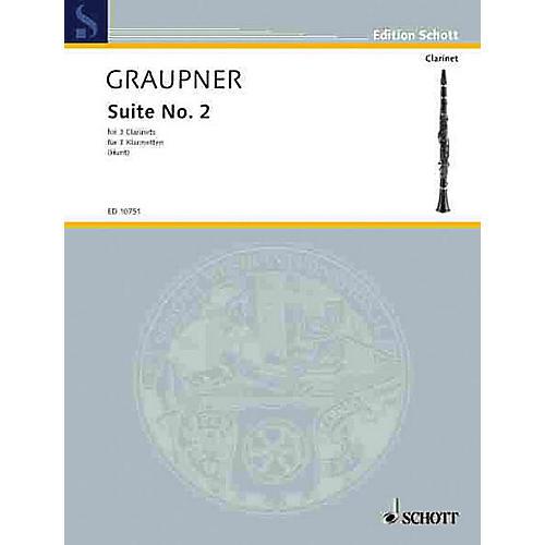 Schott Second Suite Schott Series Composed by Johann Christoph Graupner Arranged by Edgar Hubert Hunt-thumbnail