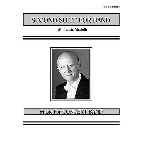 Southern Second Suite for Band (Band/Concert Band Music) Concert Band Level 3 Composed by W. Francis McBeth-thumbnail