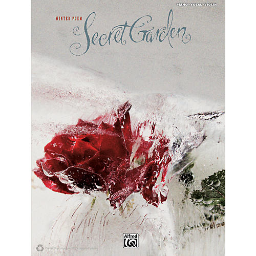Alfred Secret Garden - Winter Poem PVC with Violin Book-thumbnail