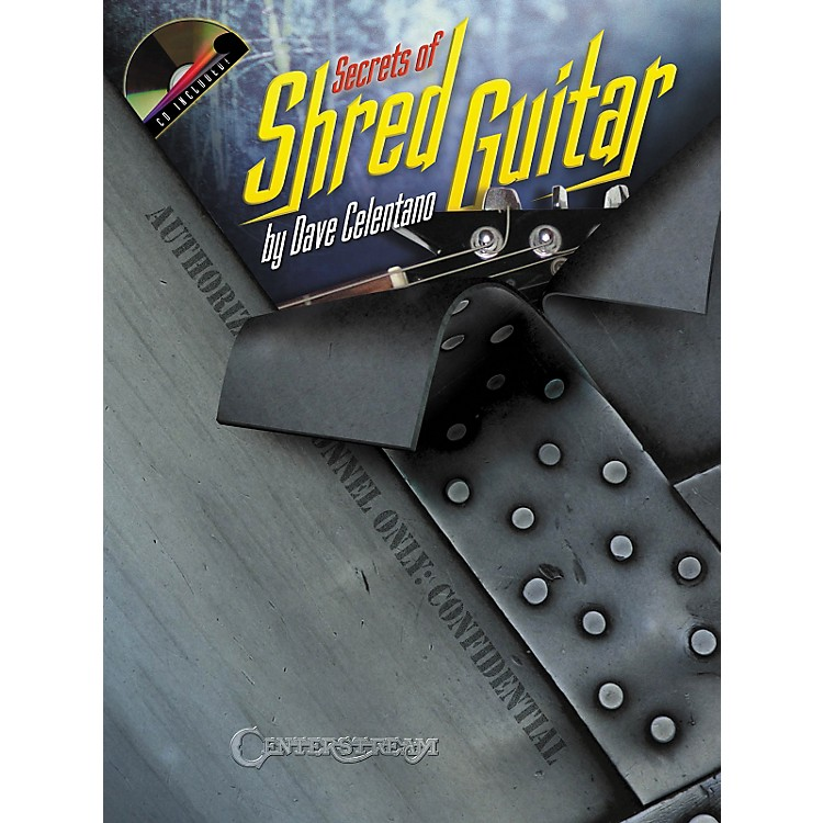 Hal Leonard Secrets of Shred Guitar Book and CD