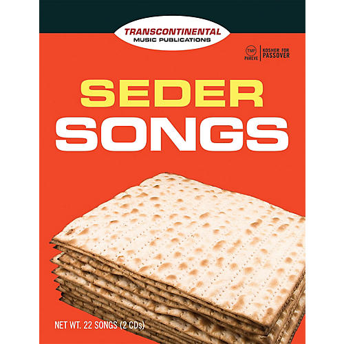 Transcontinental Music Seder Songs Transcontinental Music Folios Series Softcover with CD-thumbnail
