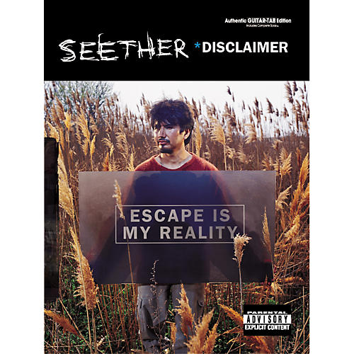 Alfred Seether Disclaimer Guitar Tab Songbook-thumbnail