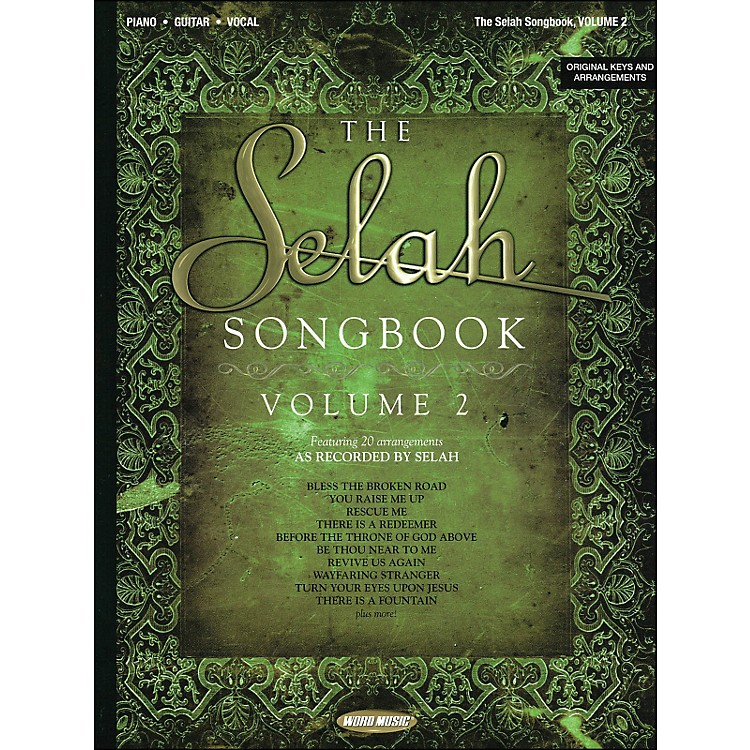Word Music Selah Songbook Volume 2 arranged for piano, vocal, and guitar (P/V/G)