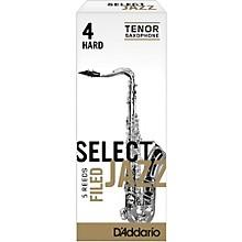 D'Addario Woodwinds Select Jazz Filed Tenor Saxophone Reeds Strength 4 Hard Box of 5