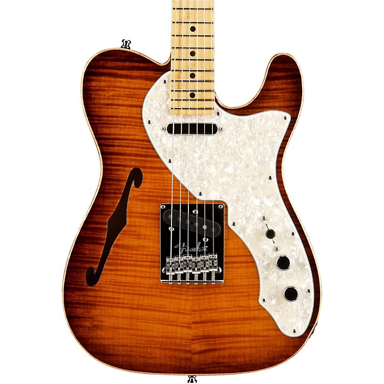 Fender Select Thinline Telecaster Electric Guitar