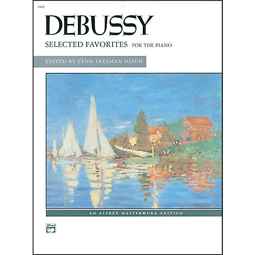 Alfred Selected Favorites Claude Debussy Piano Book